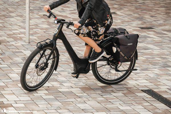 Das neue Serial1 RUSH/CTY STEP-THRU E-Bike powered by Harley-Davidson